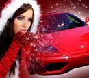 Άγιος Βασίλης με Ferrari!