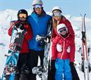 Snowboard 4p, ολοήμερη χρήση εξοπλισμού + 55΄Private Lesson