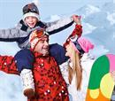 Snowboard 2p, ολοήμερη χρήση εξοπλισμού + 55΄Group  Lesson