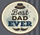 Best Dad Ever Gift Certificate for 20€