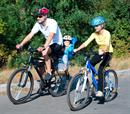 Family e-mountainbike +picnic, βασιλικά ανάκτορα, 3 άτομα!
