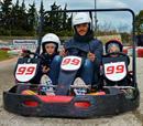 10΄ Family Go-kart για 2 παιδιά μαζί με τον μπαμπά ή τη μαμά