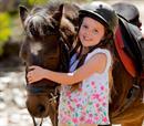 30' γνωριμίας + βόλτας με pony για 2 παιδιά 3 έως 7 ετών!