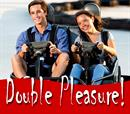 10΄ 2θέσιο Kart +25% έκπτωση για επόμενη οδήγηση για 2 άτομα