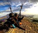 30΄ tandem paragliding με πιλότο + βιντεοσκόπηση για 2 άτομα