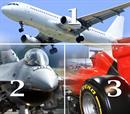 3 εμπειρίες για 3 άτομα: 30' Airbus320 +30' F16 +15' F1