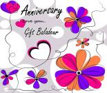 Happy Anniversary Gift Certificate for 25€
