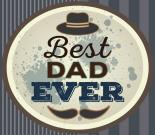 Best Dad Ever Gift Certificate for 30€