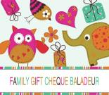 Family Gift Certificate for 75€