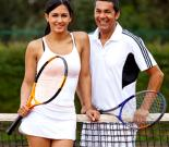 Private tennis lesson for 2!