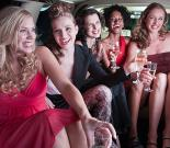 Bachelorette Spa + Limo Bus Transfer + Cocktail Night for 6p