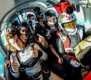 Flight for Watching skydivers & acrobatic experience for 1