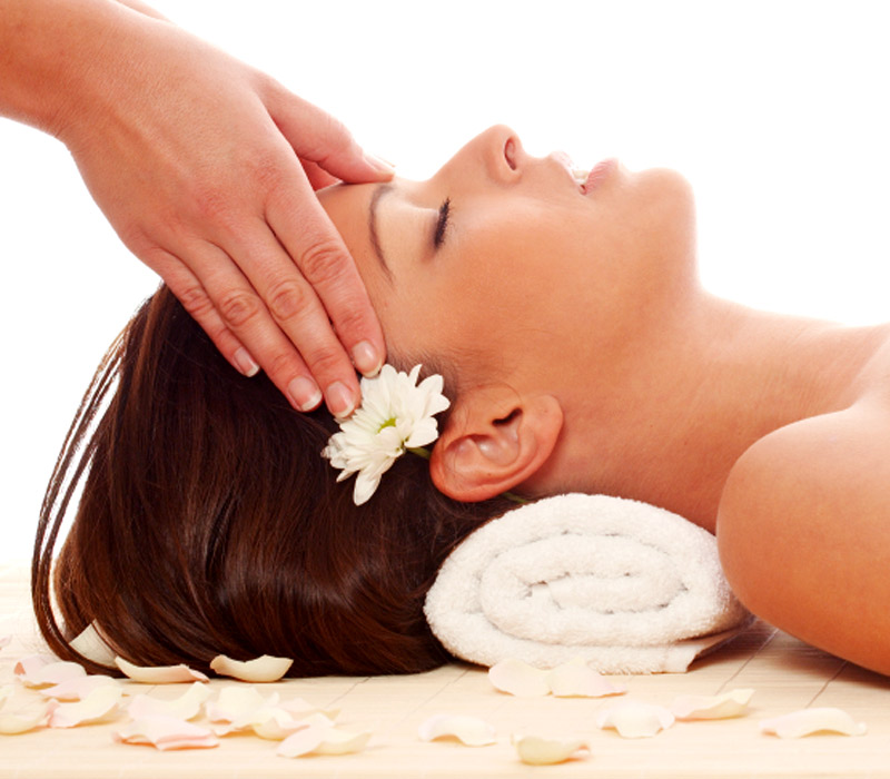 Relaxing Head Massage 2p