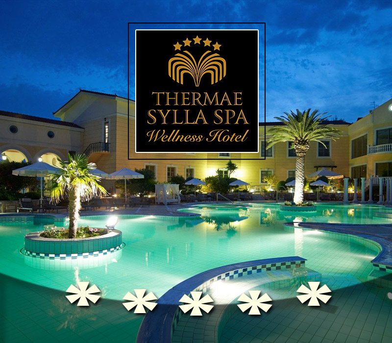 Thermae Sylla Spa Wellness Hotel 5* Lux 3ήμερο σε σουίτα -2p